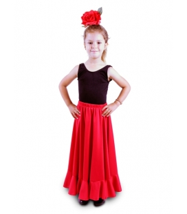 Practice Flamenco Skirt for Girls, Model 115