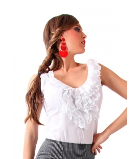 Frilled Flamenco Shirt