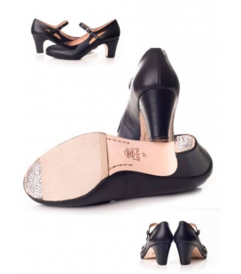 Leather Flamenco Shoes, Model 573062-P