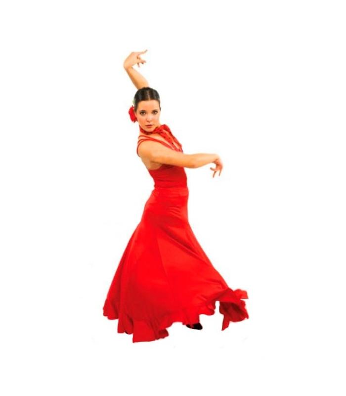 flamenco dancing skirt for women model ef065