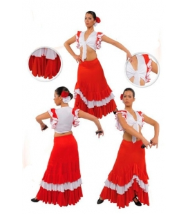 Flamenco dancing skirt mod. EF102 for women