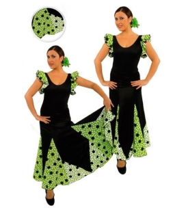 Flamenco skirt for girls model EF076