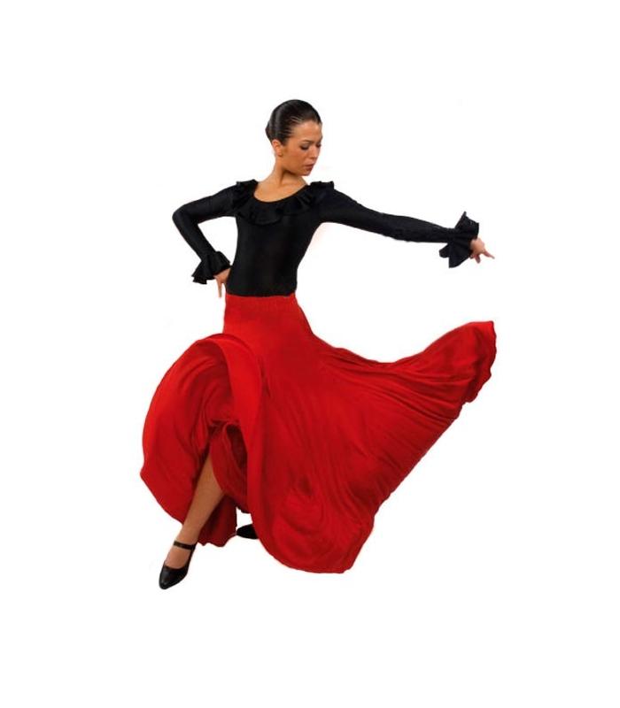 Flamenco dancing skirt for girls model EF105