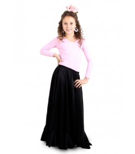 Practice Flamenco Skirt for Girls, Model MC2
