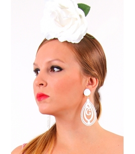 Flamenco Earrings Musical Note