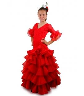 Girls Flamenco Dress, Manzanilla