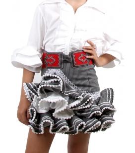 Girls Flamenco Skirt, Zingara