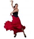 Flamenco Practice Skirt, Model 115