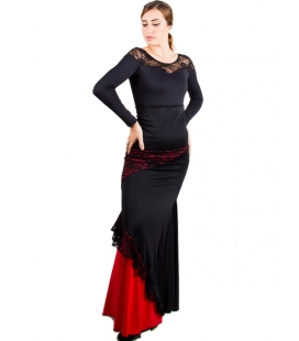 Flamenco Skirt High Waist
