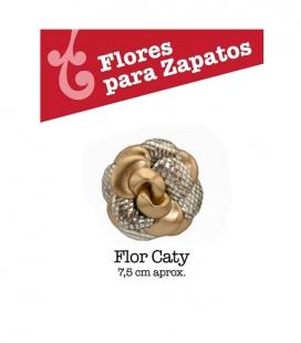Caty flower accessories of buleria flamenco shoes