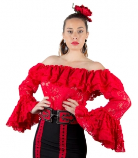 Flamenco shirt for woman