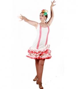 Short Flamenco Dress On Offer, Size 44
