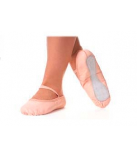Full suede sole ballet shoes made of leather