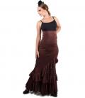 elegant flamenco skirt