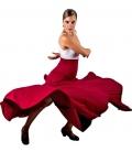 Flamenco Skirt High Waist, Model 8 Godet