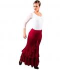 Flamenco Skirt Normal Waist, Model Salon
