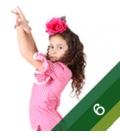 Flamenco Dresses Girl -Size 6