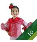 Flamenco Dresses Girl - Size 10