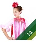 Flamenco Dresses for Girls - Size 14