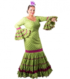 Womans Flamenco Dress for sale, Size 48 (XL)