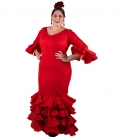 Woman's Flamenco Dress, Size 50 (2XL)