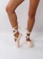 Ballet shoes rigid tip