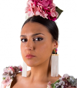 Flamenco Fringed Earrings