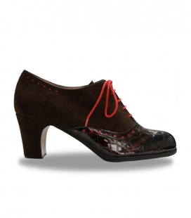 bootie flamenco shoe
