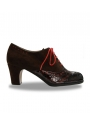 Professional Bootie Flamenco Shoe Palma