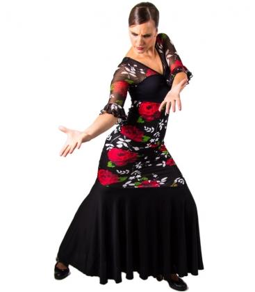 Flamenco Skirt High Waist  sc 1 st  Flamenco dresses & Flamenco Skirt High Waist - El Rocio Flamenco dance skirts