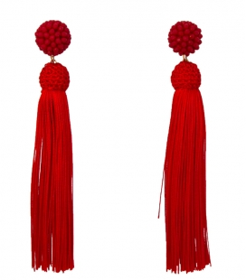 Flamenco Fringed Earrings