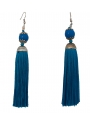 Ball and Fringe Earrings - Flamenco accessories El Rocio
