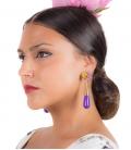 Teardrops Flamenco Earrings