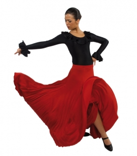 Flamenco dancing skirt model EF1051