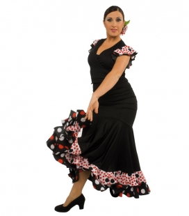 Flamenco dancing skirt model EF127