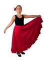 flamenco skirt for girls