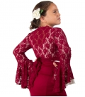 Short Lace Jackets For Girls