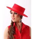 Sombrero Hat, Felt Red or Black