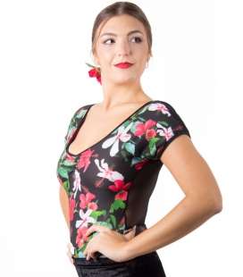 flamenco dance top
