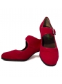 Flamenco dance shoes
