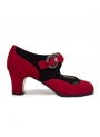 Professional Bootie Flamenco Shoes - Irene