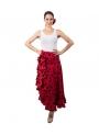 "Flamenco Skirt, ""Rocieras"", Size 38 (M)"
