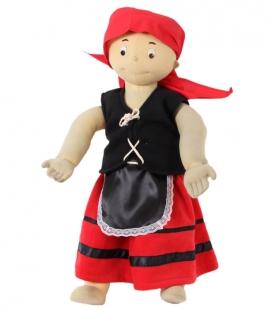 Pastora red skirts