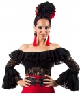 Flamenco Embroidery Blouses