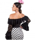 Embroidery flamenco blouses