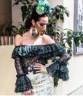 Dentelle flamenco blouses