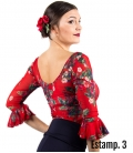 Flamenco Floral Top
