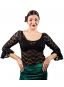Lace Flamenco Top