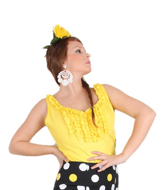 a945b98110446 Flamenco tank top or shirt for women who love flamenco