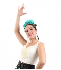 Flamenco Blouse for Women, Goyesca Model